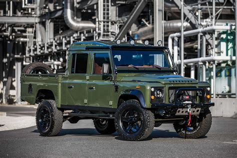 The Land Rover Defender 130 'the Huntress' Comes With