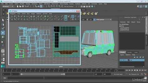 map objects   uv editor