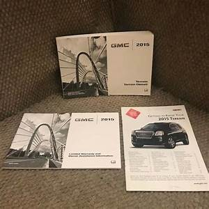 2015 Gmc Terrain Owners Manual Set With Warranty Guide And