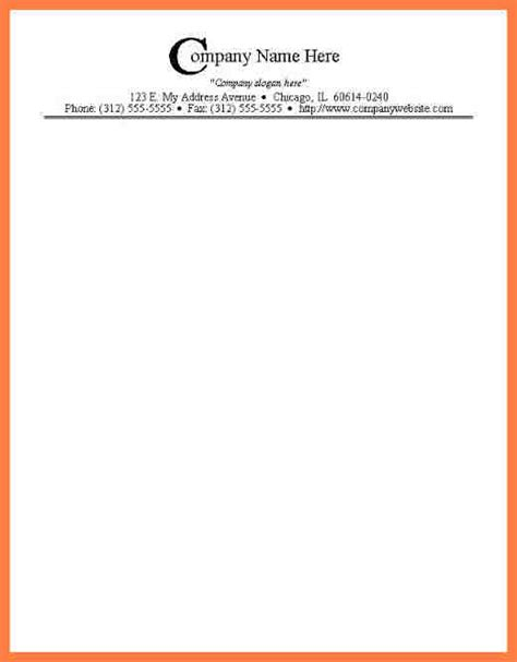 printable letterhead templates company letterhead