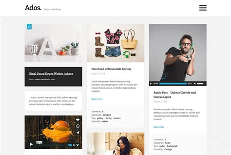 20 Best Three Column Wordpress Themes 2018 Colorlib