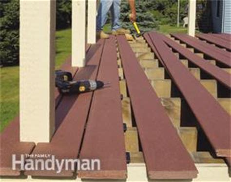 Notching Deck Boards Around Posts by Deck Boards Notch Deck Boards