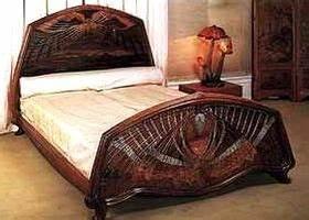 Art Nouveau Mobilier : lit d 39 emile gall mobilier art nouveau en 2019 meubles ~ Melissatoandfro.com Idées de Décoration
