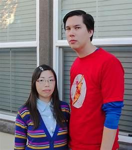 Berühmte Paare Kostüm : 30 ausgefallene halloween kost m ideen aus fernsehserien ~ Frokenaadalensverden.com Haus und Dekorationen