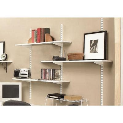 Wall Bracket Shelf System by Cabinets Looking For A Particular Dual Track Shelving
