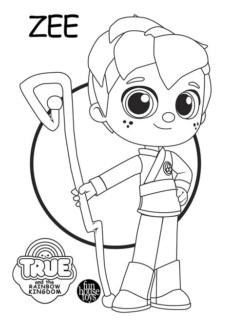 true   rainbow kingdom coloring pages