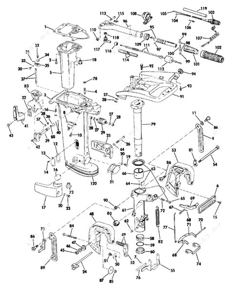 Evinrude Erwlk Midsection Parts Catalog