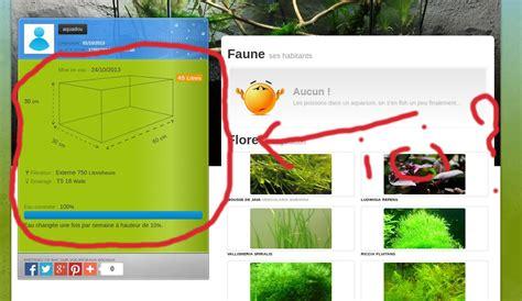 gestion aquarium en ligne bani 232 re pour afficher les param 232 tres de bac