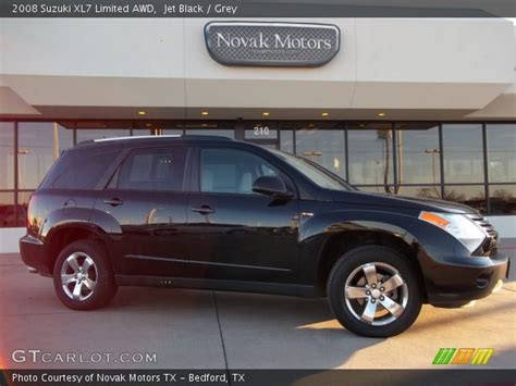 2008 Suzuki Xl7 Limited by Jet Black 2008 Suzuki Xl7 Limited Awd Grey Interior