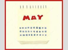 May Calendar 2018 Clipart, Vector Art, Cartoon CalendarBuzz