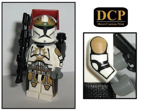 87th Legion Jet Clone Trooper Figur Gefertigt Aus Lego