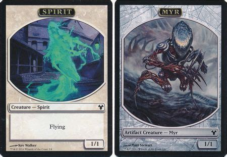 Mtg Myr Deck Modern by 8x Modern Event Deck March Of The Multitudes Spirit Myr