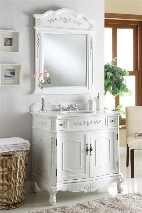 classic style antique white fairmont bathroom sink