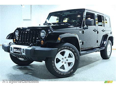 jeep sahara black 2009 jeep wrangler unlimited sahara 4x4 in black 751256