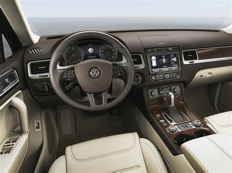 volkswagen touareg 2016 interior 2016 volkswagen touareg price photos reviews features