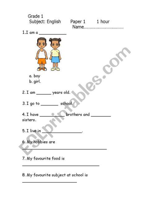 grade  english exam  esl worksheet  tayto