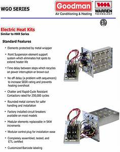 Goodman Hkr 10 Wiring Diagram