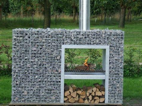 Grill Aus Beton Selber Bauen by Diy Trockenmauer Gabionen Steinwand Selber Bauen Ohne
