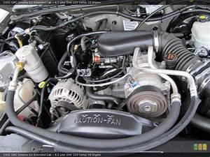4 3 Liter Ohv 12v Vortec V6 2003 Gmc Sonoma Engine