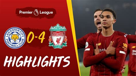 Leicester City 0-4 Liverpool | Superb Trent strike helps ...