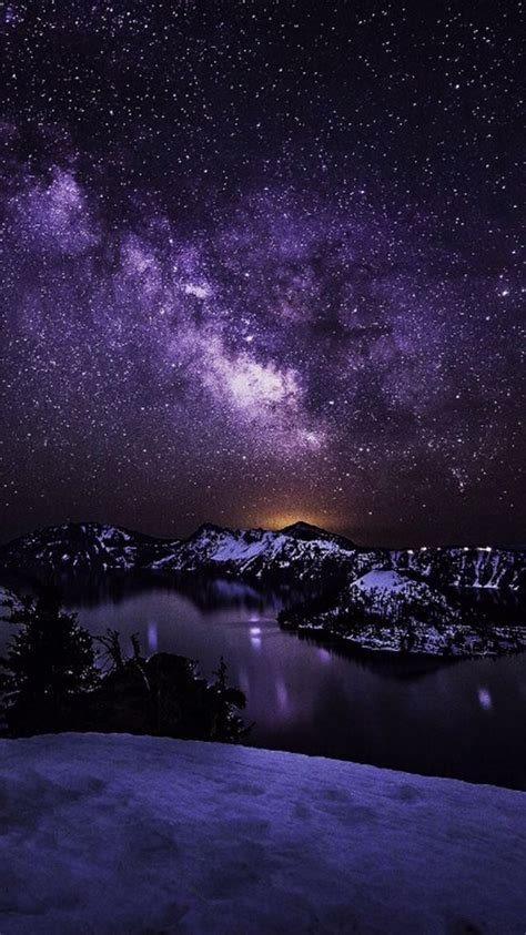 Galaxy Scenery Background The Sky