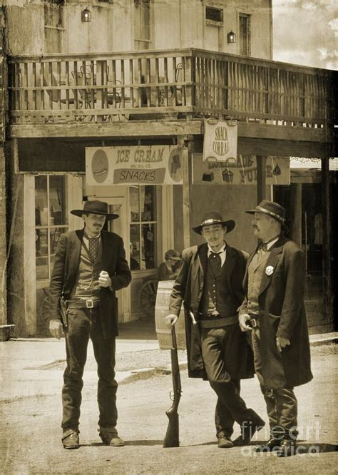 streets of tombstone circa 1880 photograph by john malone