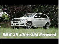 2014 BMW X5 xDrive35d Diesel SUV Reviewed YouTube