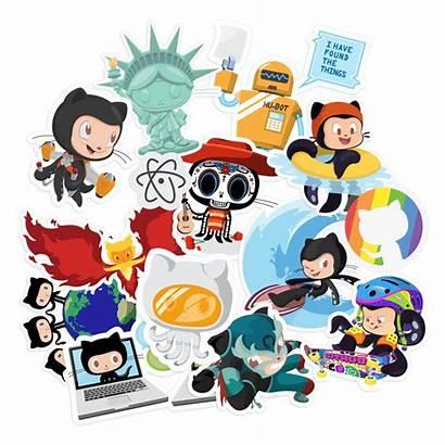 Sticker Packs Github Stickers Pack