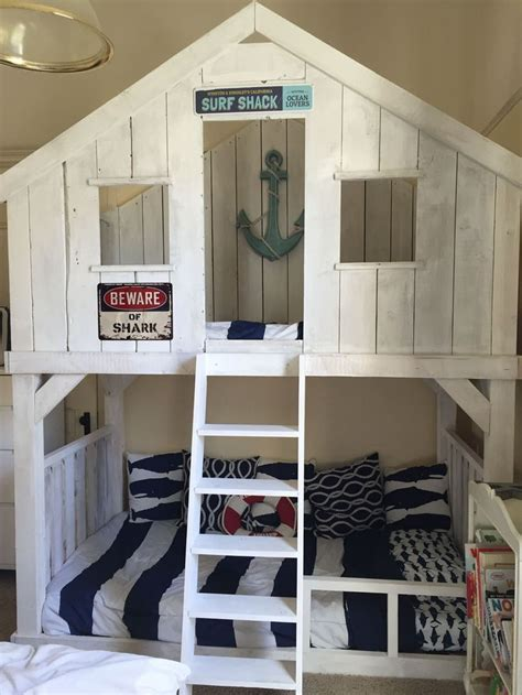 bunk bed plans ideas  pinterest bunk beds