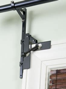 no drill curtain rod brackets readyhang resa