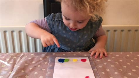 easy art ideas  kids  mess rainbow art fun