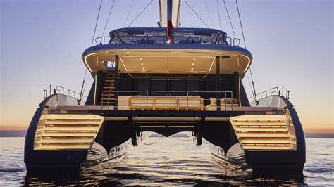 Largest Catamaran Yacht by Luxury Custom Yachts Catamarans Power Boats Design