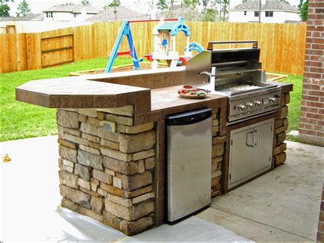 Pre Built Outdoor Kitchen  Kitchen Decor Design Ideas