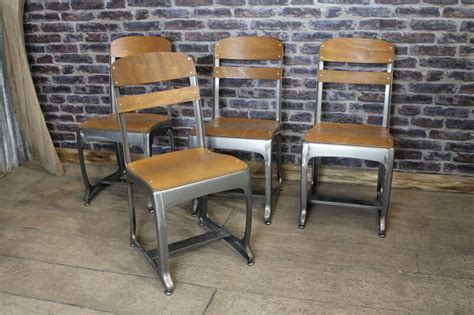 Vintage Industrial Style Dining Chairs Cafe Chairs Retro