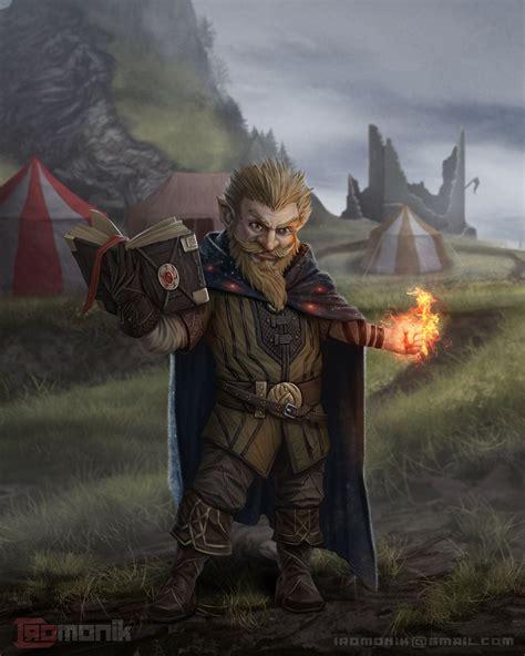 [Art] Gnome wizard Character Art : DnD