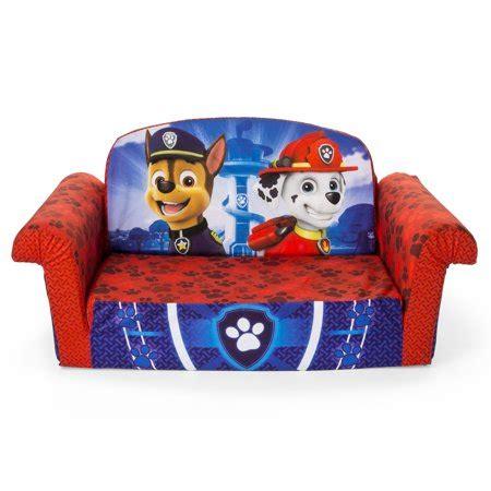 Toddler Flip Sofa Bed by Marshmallow Furniture Children S 2 In 1 Flip Open Foam