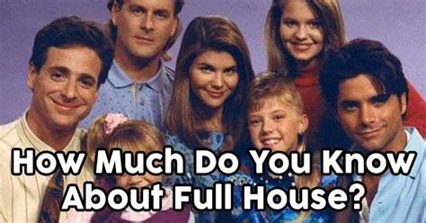 how much do you know about full house quizpug