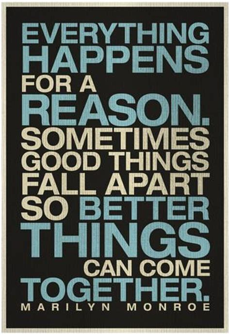 Everything Happens For A Reason Quotes Inspirational