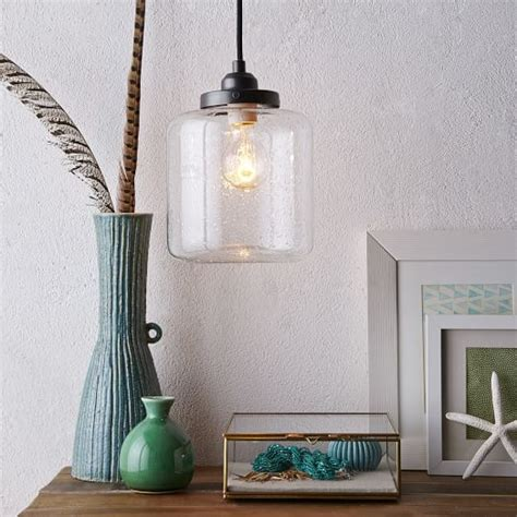 west elm pendant light glass jar pendant west elm