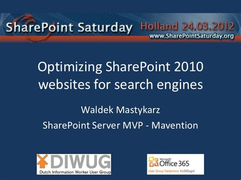 Optimizing Your Website For Search Engines by Optimizing Sharepoint 2010 Websites For Search Engines