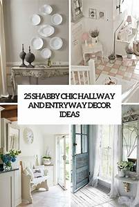 25 Shabby Chic Hallway And Entryway Décor Ideas - Shelterness