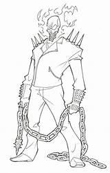 Rider Ghost Coloring Drawing Marvel Superhero Draw Venom Whitesbelfast Ronniesolano Deviantart Avengers Spiderman Zum Malvorlagen Adult Azcoloring Malbuch Vorlagen sketch template