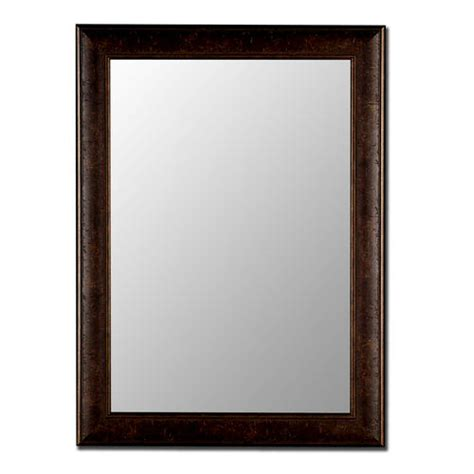 bathroom vanity mirrors at menards hitchcock butterfield rusticanna 18 quot x 36 quot copper
