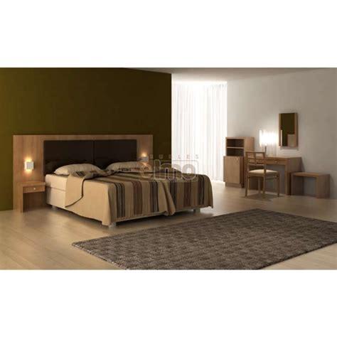chambre bois chambre adulte spécial hôtellerie tête de lit bois massif h03