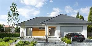 Dach Garage Bauen : bungalow bauen mit garage ~ Michelbontemps.com Haus und Dekorationen