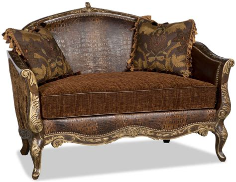 New Settee by New Orleans Quarter Style Gator Settee