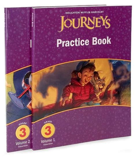 Journeys Practice Book Consumable Collection Grade 3 By Houghton Mifflin Harcourt, Other Format