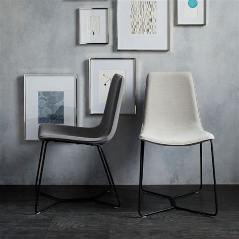 slope dining chair west elm