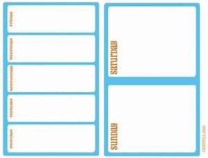 Monday through sunday calendar 2015 printable new for Saturday to friday calendar template