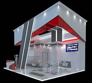 3d, Model, Exhibition, Stand, 8m, X, 6m